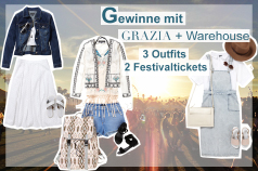 Warehouse xx Grazia Magazin