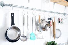 DIY Küchenreling