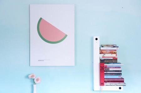 Melone Designvakken vattenmelon