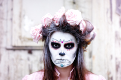 Halloween Make up: Dia De Los Muertos