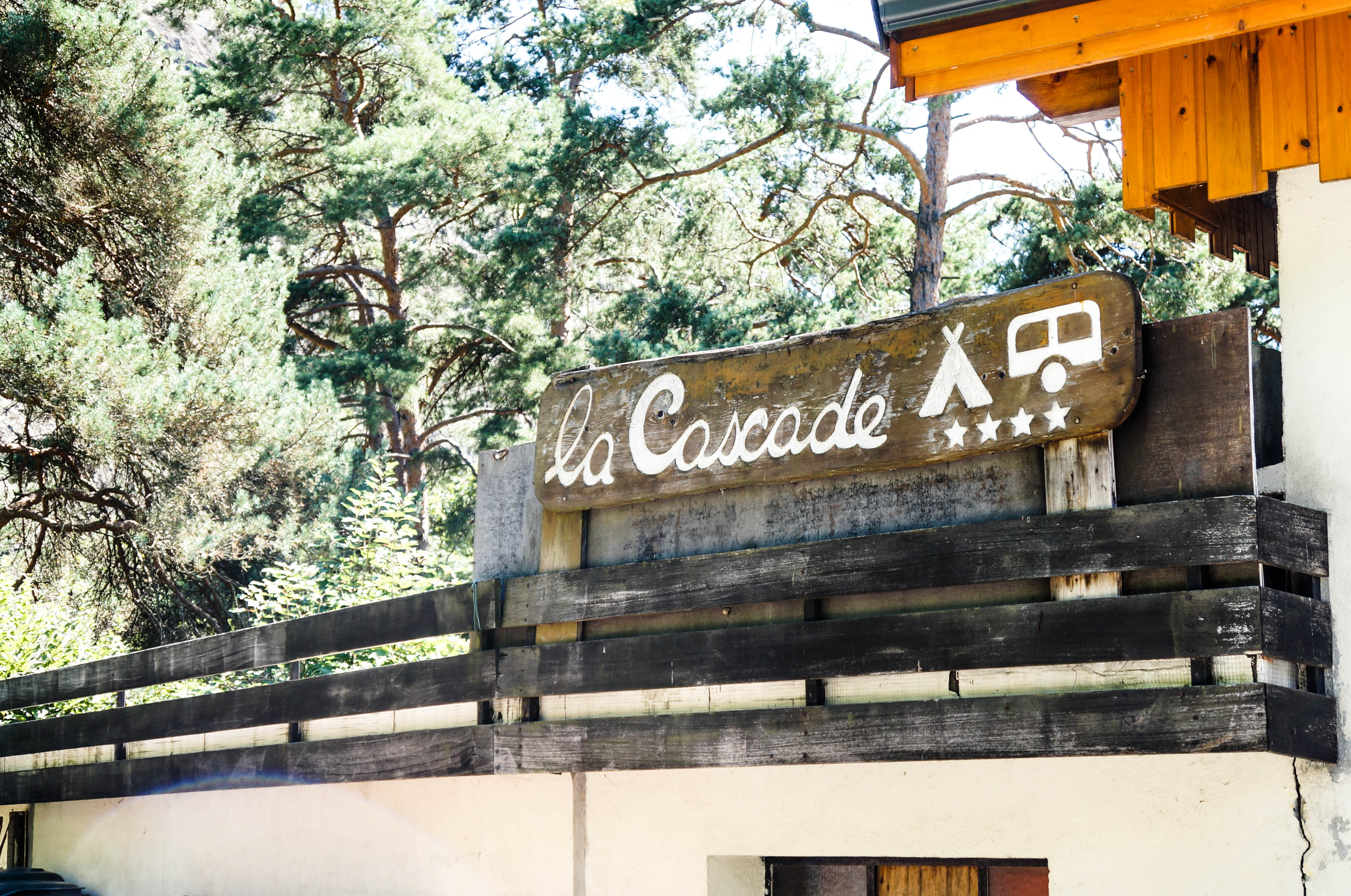 Camping in Italien La Cascada