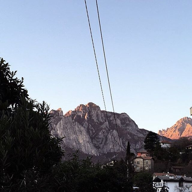 Good morning from Lecco in Italy No clouds and 18Chellip
