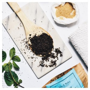 Starting the day with a coffee peeling coffee peeling scrubhellip