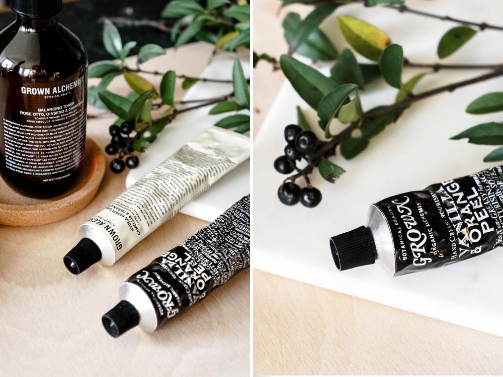 Grown Alchemist Hautpflege Routine