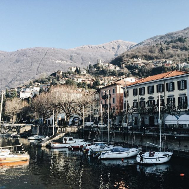 We visited the pretty little city Bellano to hike thehellip