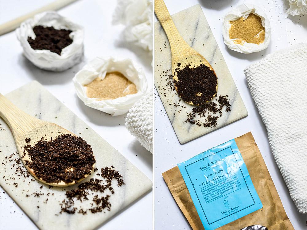 Kaffee Peeling selber machen / Kaffee-Peeling