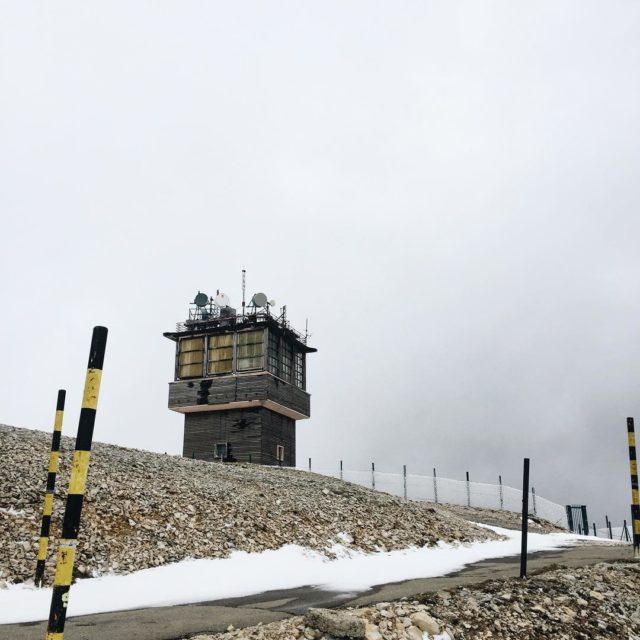 Mont Ventoux summit station peak summit mountains mountain montventoux winterhellip