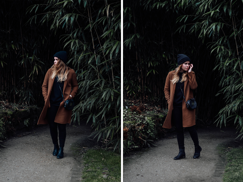 Camel Coat Blogger Trend Zara Mantel