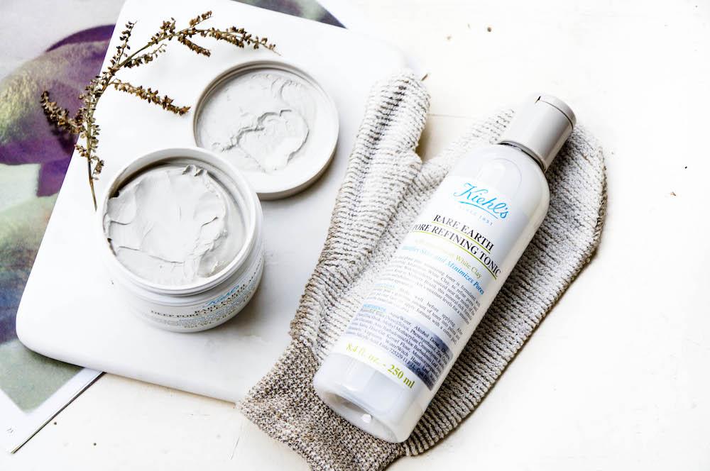Kiehl's Rare Earth Pore Refining Tonic Depp Cleansing Masque Tonerdemaske
