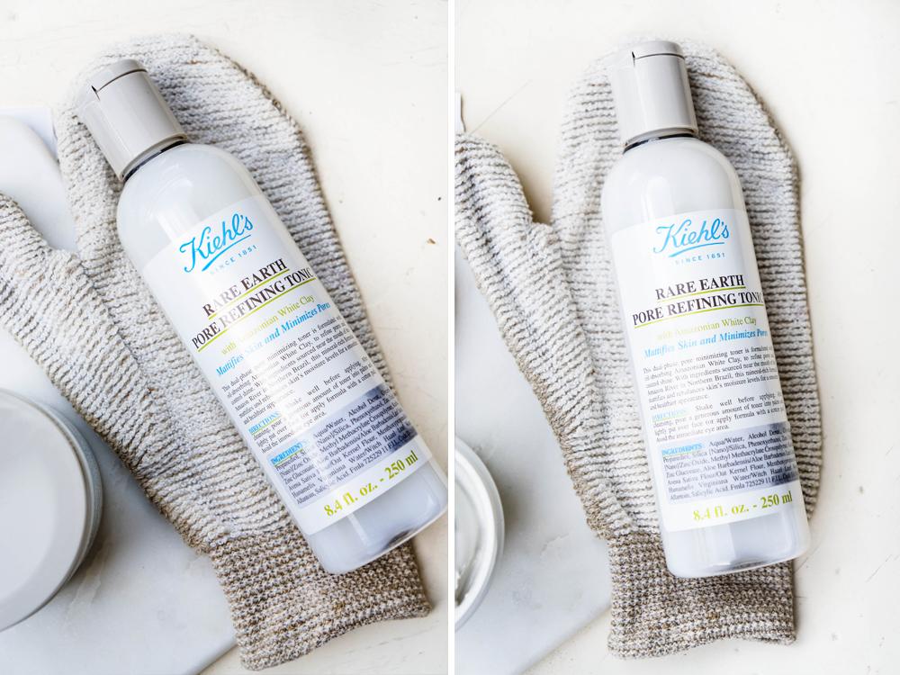 Kiehls Rare Pore Refining Toner Kiehl's Rare Earth Pore Refining Tonic Deep Cleansing Masque Tonerdemaske