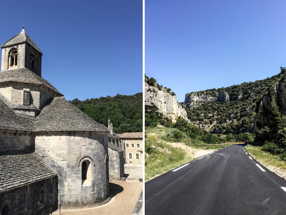 Frankreich Prvence Urlaub Senanque Kloster Abtei