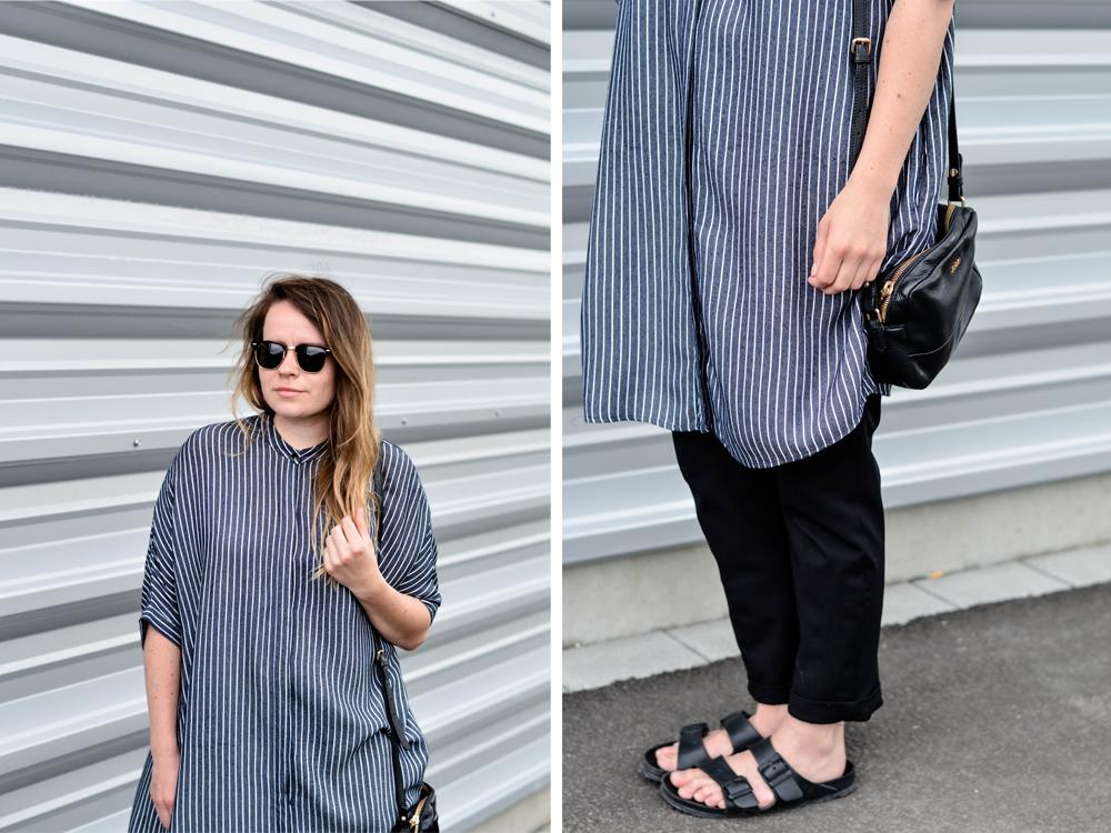 Zara überlange Bluse Hemdkleid Blusenkleid Oversize