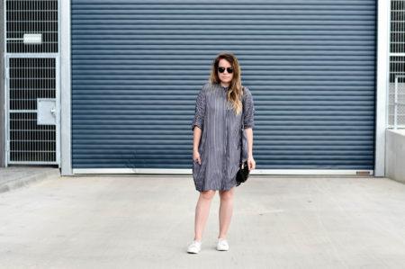 Zara überlanges Hemd Bluse Oversize Kleid Zara