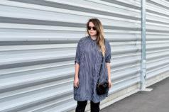 Zara überlanges langes Hemd Bluse Blusenkleid