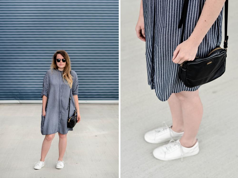 Zara Lange Bluse Hemdkleid Blusenkleid Oversized Hemd