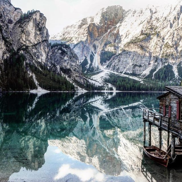 Sorry for one more shot from the Pragser Wildsee hellip