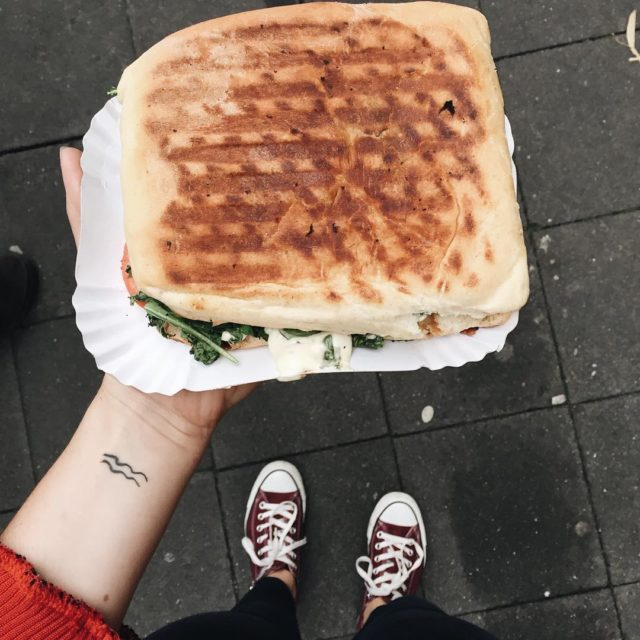 The best panini on earth from ll Panino Mnster foodgoalshellip
