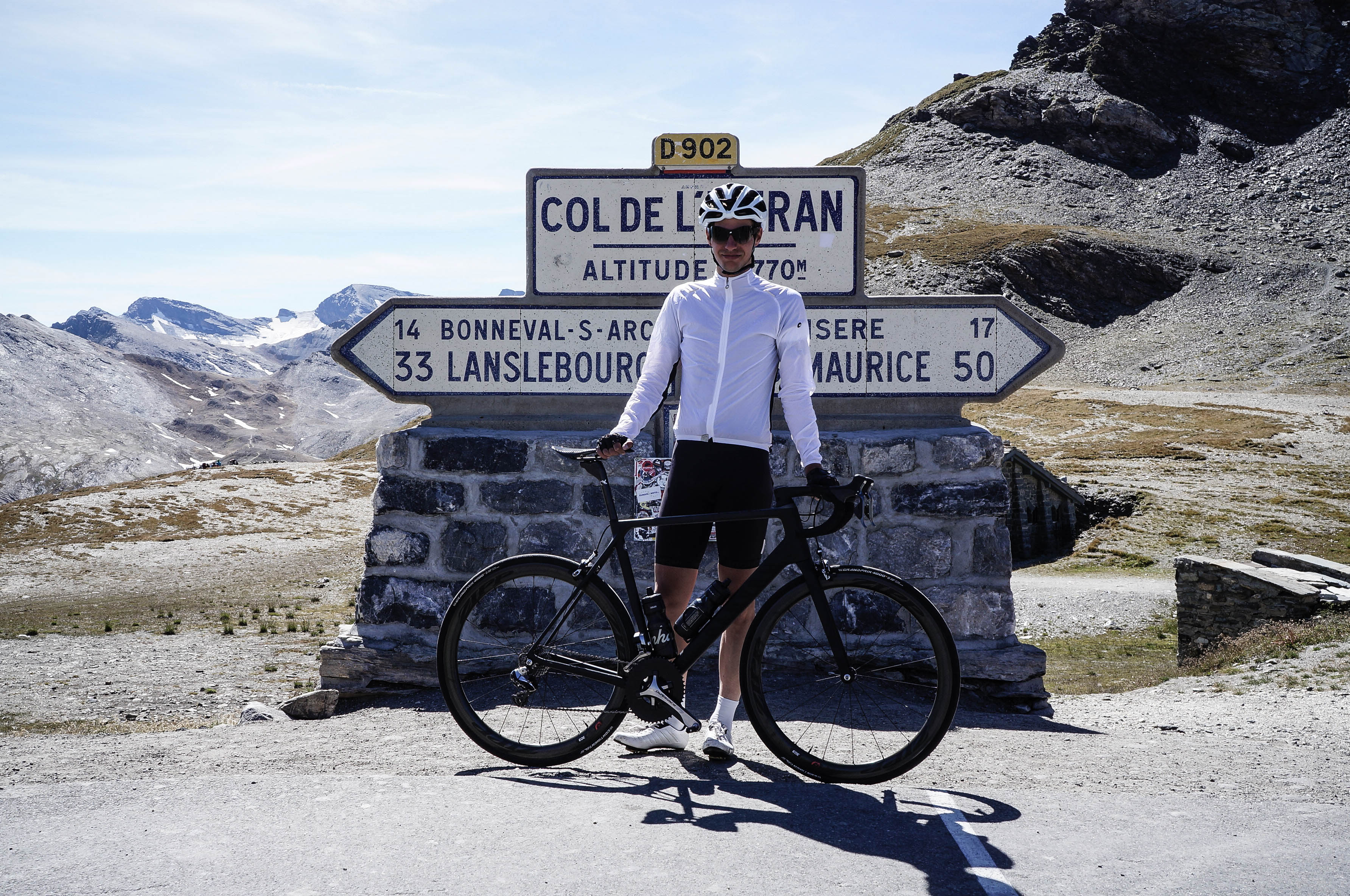Route des Grandes Alpes Rennrad L'Izeran Canyon