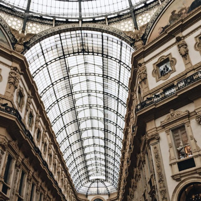 Love this Gallery in Milan Such a beautiful building andhellip