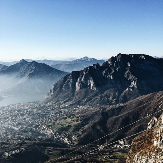 what a view all over Lecco and the other citieshellip
