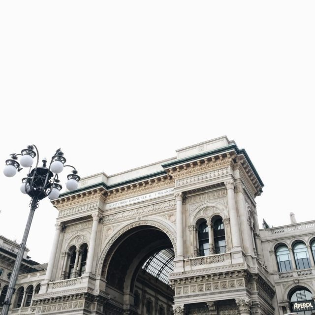 Beautiful inside and from the outside! The Galleria Vittorio Emanuelhellip