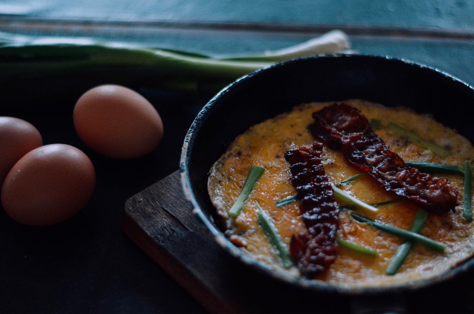 omlett-mit-bacon-eier