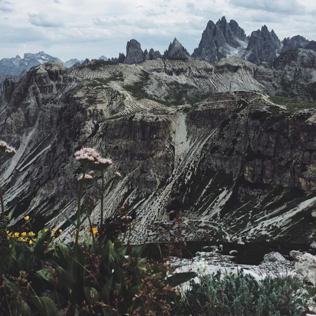 The dolomites rough and beautiful  dreizinnen mountains mountain letsgosomewherehellip