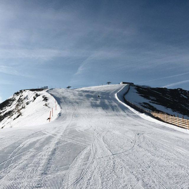 Still cant believe that I rode down this slope onhellip