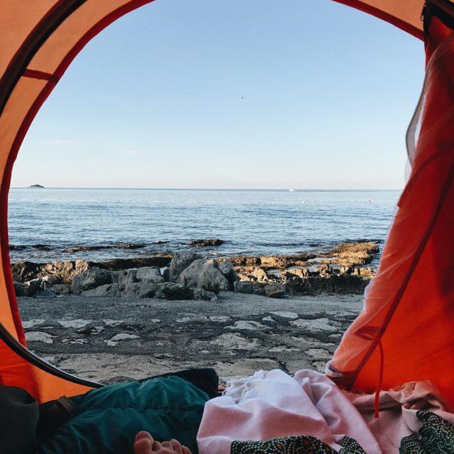 Woke up like this  whataview view tentview ocean adventure