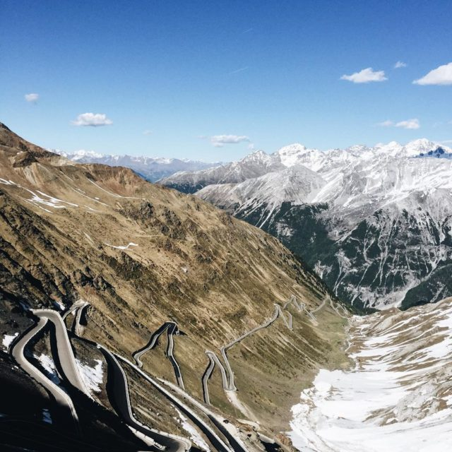 Passo dello Stelvio! One of the most beautiful views hellip
