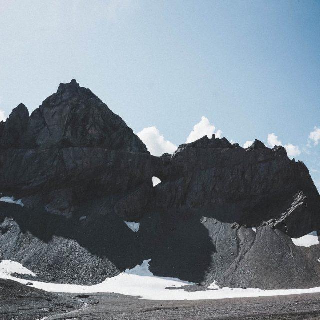 Das Martinsloch beim Segnaspass  fromflimswithlove flims mountains segnaspass hikinghellip