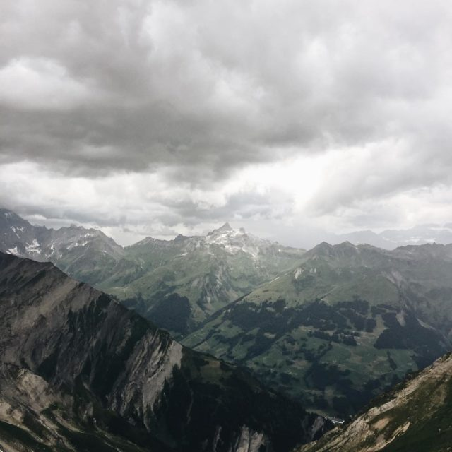 This view  mountains view whataview flims segnaspass fromflimswithlove clouds