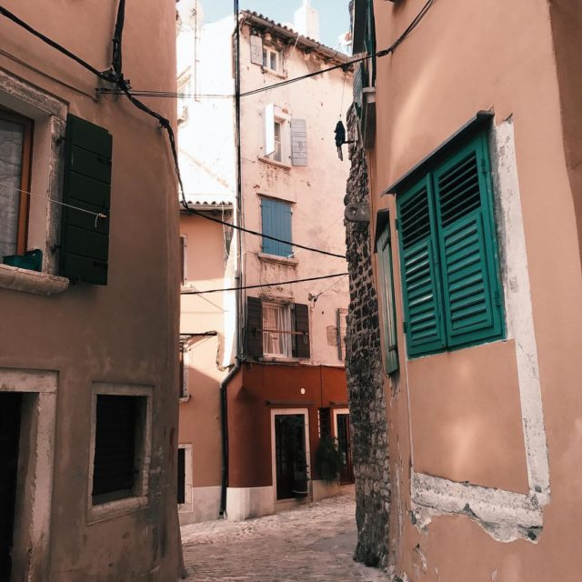 Missing the small and colorful streets of Rovinj colorful streetshellip