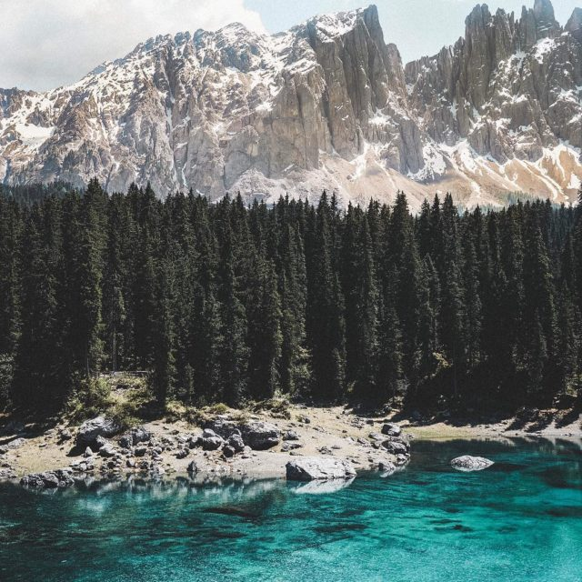 The Lago di Carezza is maybe the most beautiful placehellip