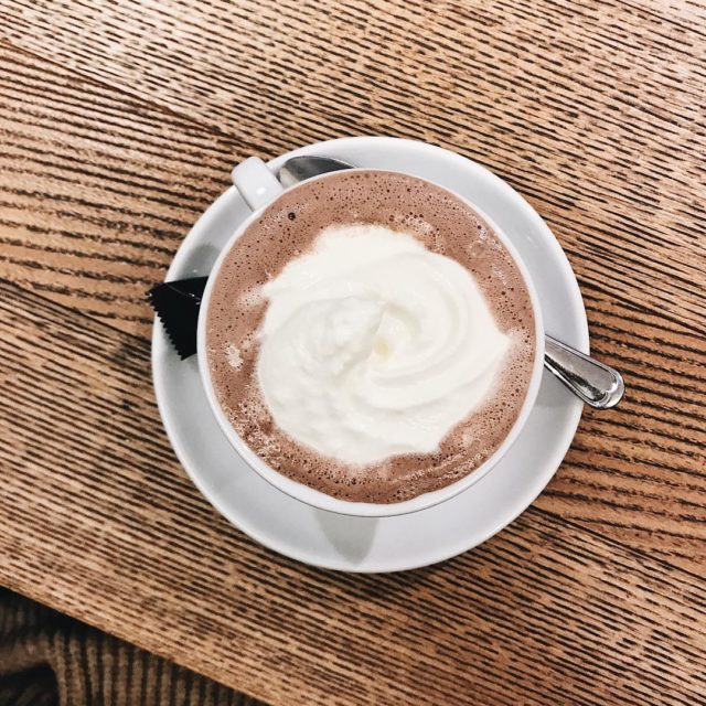 A hot chocolate a day keeps the in Meran wevehellip