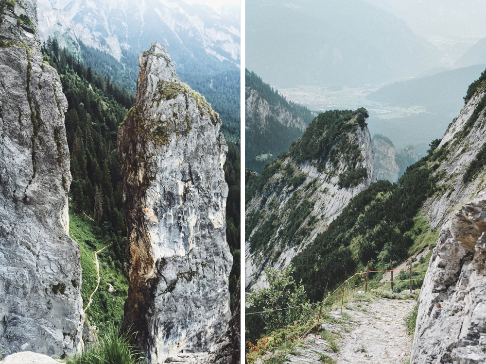 Klettersteig Outfit : Pinut klettersteig in flims schweiz todayis