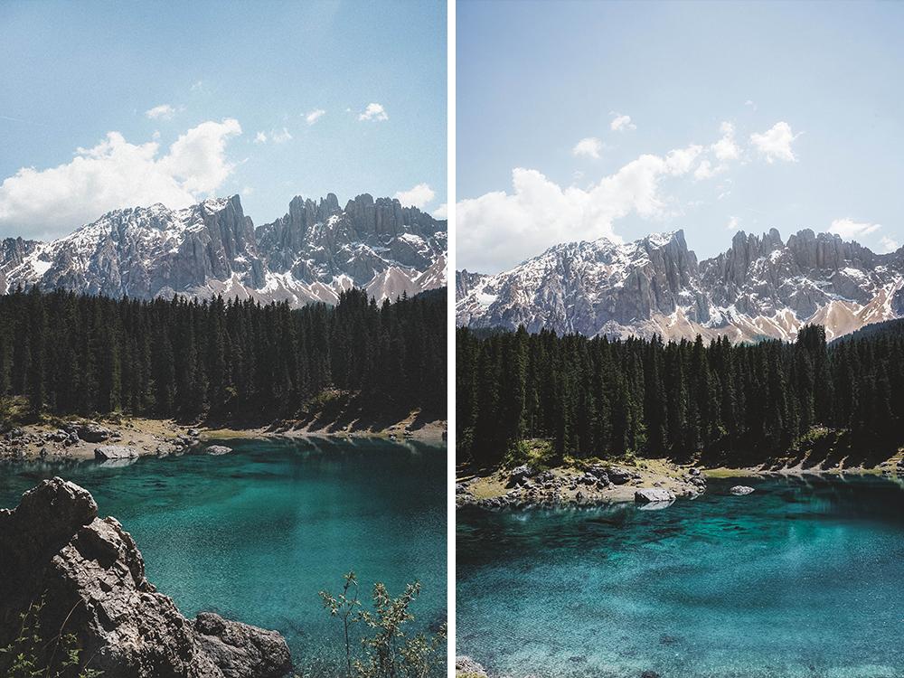 karersee-lago-di-carezza-rosengarten-dolomiten-urlaub-wandern-wanderung-drei-zinnen