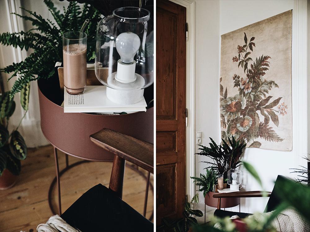 hkliving flinders ferm living pflanzenst nder metall plant. Black Bedroom Furniture Sets. Home Design Ideas